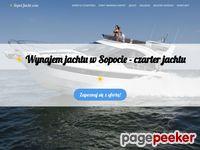 Czarter jachtu Sopot, Gdańsk, Gdynia, wynajem jachtu w Sopocie -