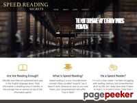 Speed Reading Secrets (Official Site)