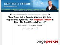 Stop Tinnitus Forever - Natural & Holistic System To Cure Tinnitus Forever