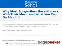 How to Write Songs That Sell Video Course (no SSC – CB) — Success For Your Songs