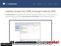 Tab Accelerator Traffic Exchange Software — Tab Accelerator