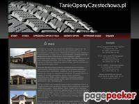 Tanie Opony Częstochowa - Opony Częstochowa