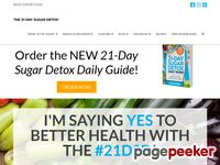 The 21-Day Sugar Detox – Bust sugar & carb cravings naturally.