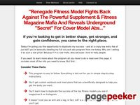Fast Abs Program: Fitness Model's Secrets To Getting Rock Hard Six Pack Abs Fast
