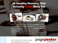 The Dessert Angel – How to Have Your Cake and Lose Weight Too!