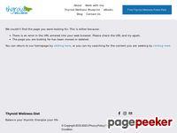 Book Sales Page - Thyroid Wellness Diet