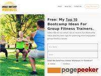 Unique Bootcamp Workouts