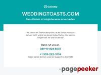 Wedding Toasts & Wedding Speeches - Make Your Wedding Speech Fabulous!