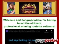 Roulette Betting Software - Roulette System Software