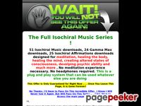 Isochiral Music One Time Offer