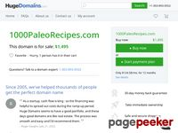 Get 1000 Paleo Recipes Today At Nearly 50% Off! – 1000paleorecipes.com