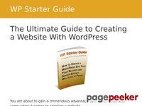 WP Starter Guide - WordPress Tutorial