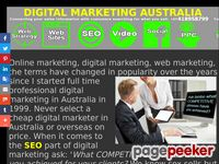 Web Marketing Australia