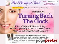 Beauty Of Food – Look 5 Years Younger In Minutes & Never Leave Home!
