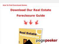 Foreclosure Cleanup Cash Program