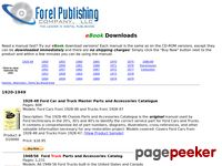 Digitally Downloadable Ford Manuals