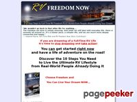 RV Freedom Now Step by Step Guide to RV Full-Time