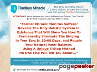 Tinnitus Miracle™ – Cure Tinnitus Holistically