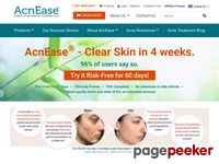 AcnEase all natural botanical acne treatment for adult acne, acne scars, teen acne