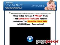 Acne No More™ – FREE Video Presentation