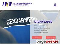 Association professionnelle des Gendarmes Vaudois - A visiter!