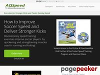 #1 Speed Training Program For Athletes of All Ages — Run Faster and Kick Farther