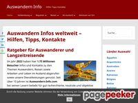 Auswandern aktuell - Reise Laender - Auswanderer Infos