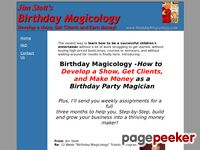 Birthday Magicology - Become a Magician
