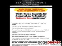 Secrets Of Covert Hypnosis - Black Ops : Darkside Edition