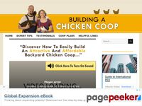 Build A Chicken Coop - Plans Download