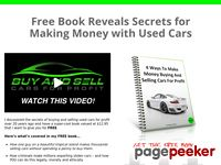 :: Buy And Sell Cars For Profit - Be Your Own Boss - Make Easy $300 to $3000 PROFIT per Car! - Home