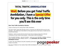 Total Traffic Annhilation