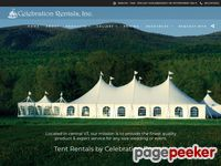 Celebration Rentals Inc. | Vermont Tent Rentals, Party Tents, New York Tent Rentals, New Hampshire Tent Rentals, Frame Tents, Pole Tents, Tables, Chairs, Lighting, Flooring, Heating, Bandstands, Tableware Rentals