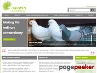 Website for The Charles Darwin Trust