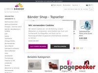 Christa-Bänder - Satinband Großhandel