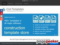 Civil Engineering Templates – Civil Engineering Document Templates
