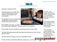Declutter Fast: How To Get Your Home In Order Almost Immediately