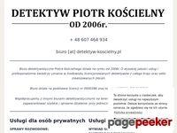http://www.detektyw-koscielny.pl