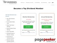 Top Dividend Stocks – High Yield Stocks – Top Dividend Membership