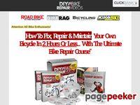 DIYBikeRepair® Easy Bicycle Repair Course With 200 Videos and Bike Repair Manuals