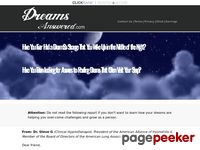 Dreams Answered – Puzzling Dreams Answers
