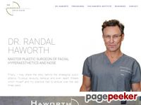 Beverly Hills Plastic Surgery - Rhinoplasty, Breast Augmentation, Face Lifts, Cosmetic Surgery | Dr. Randal Haworth