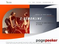 Welcome to e-gymonline your free online fitness videos.