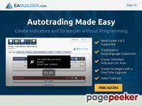 EA Builder – Create indicators and strategies for MetaTrader 4 & 5 and TradeStation