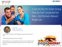 Eliminates Rebound Weight Gain – Simple Strategy Weight Loss – Eat Stop Eat
