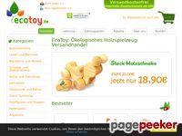 EcoToy.de Online Shop: ökologische Holzspielzeuge