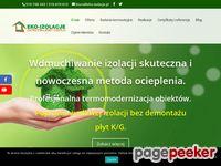 Zrzut ekranu http://www.eko-izolacje.pl