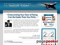Fear of Flying Phobia - Takeoff Today! Get Your FREE Fear of Flying Report and Overcome Your Flying Anxiety