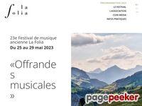Festival La Folia (Rougemont) - A visiter!