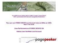 Forex Device – Real Money Trading Forex Robot – 100% automated Forex Robot